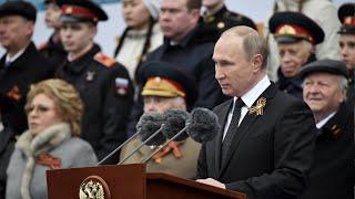 Путин поздравил с Днем Победы лидеров стран Содружества и народы Грузии и Украины