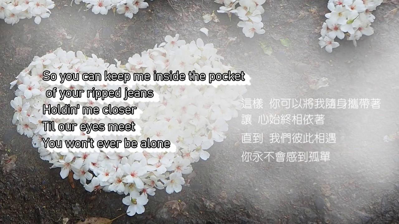[中文歌詞/Lyrics] Ed Sheeran -Photograph  相片