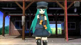 artist: 初音ミク miku hatsune song ; 1925 reprint of nicovideo.jp : http://nicovideo.jp/watch/sm12454489 pv: all rights reserved PROJECT DIVA.