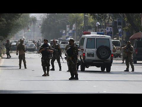 Afganistan'da seçim mitingine bombalı saldırı: 24 ölü, 30 yaralı