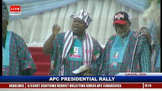 Lagos Has Been Delivered To APC Already, Ambode Boasts