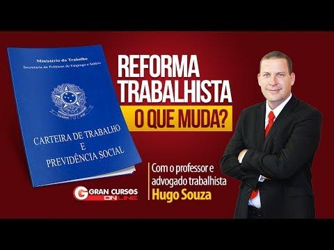 Reforma Trabalhista: O que muda? Com o professor e advogado trabalhista Hugo Souza