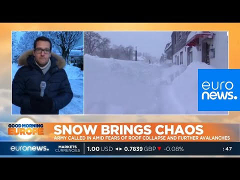 Snow brings chaos in central Europe | #GME