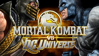 Mortal Kombat x DC Universe - SCORPION X BATMAN