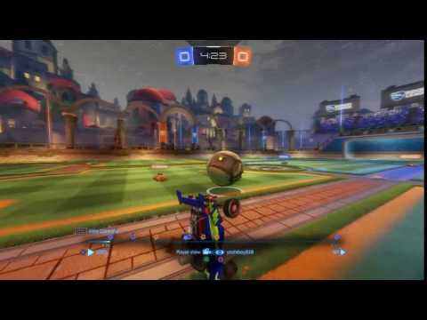 Rocket League: strategic pass