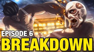 EREN vs The WARHAMMER Titan!! | Attack on Titan Season 4 Episode 6 Breakdown