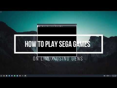 How To Play Sega Games On Linux Using Gens