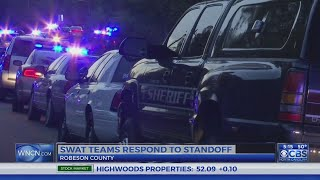 SWAT teams respond to standoff in Robeson County