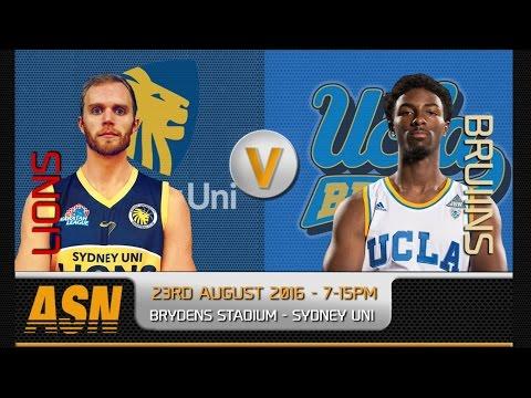ASN HD: Sydney Uni Lions v UCLA