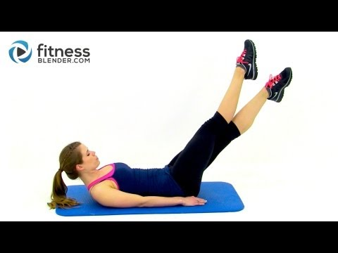 60 Minute HIIT Cardio and Abs Workout - Fitness Blender Tabata HIIT, Abs and Obliques Workout