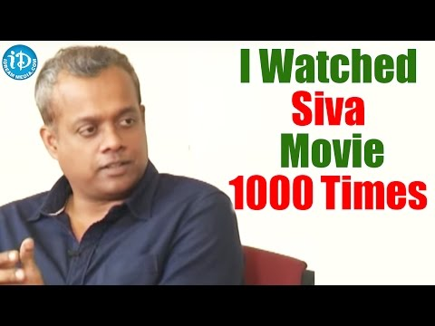 I Watched Siva Movie 1000 Times - Gautham Menon @ Sahasam Swasaga Sagipo Team Interview