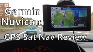 Garmin Nuvicam In-Car Sat Nav Review - GPS With Built-In Dash Cam & Bluetooth