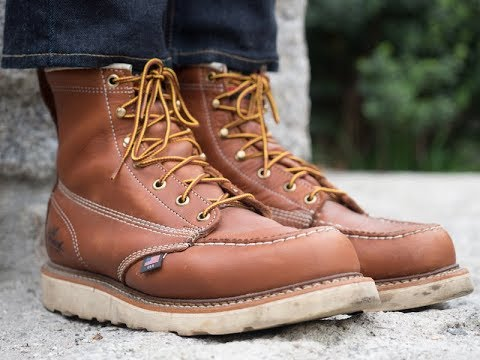 cab4b464e16 Thorogood Moc Toe Review - The Work Boot You Can Wear Out ...
