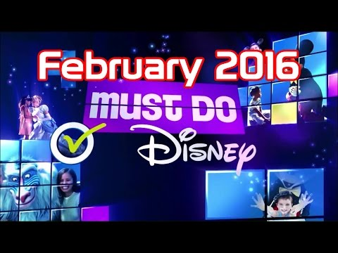 Must Do Disney 2016 | February | HD Direct Capture streaming vf