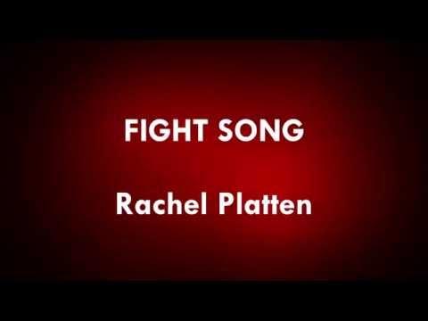 Fight Song - Rachel Platten - EverGreen Lyrics (HD)