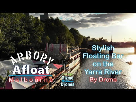 Iconic Arbory Afloat By Drone - Melbourne, Victoria, Australia