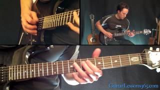 Raining Blood Guitar Lesson - Slayer - Famous Riffs