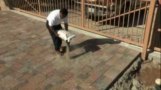 Techniseal Polymeric Sand for Paver Joints Installation Procedure