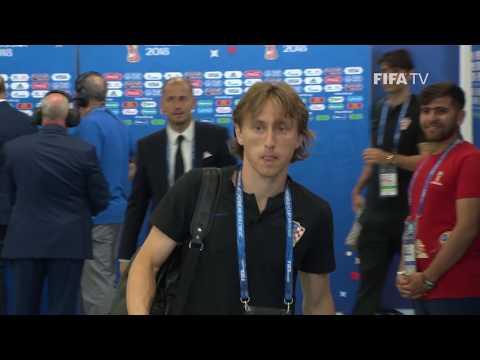 CROATIA ARRIVE - MATCH 8 @ 2018 FIFA World Cup™