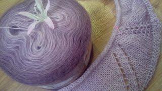 Вязание из Alize angora gold ombre batik/ часть 1
