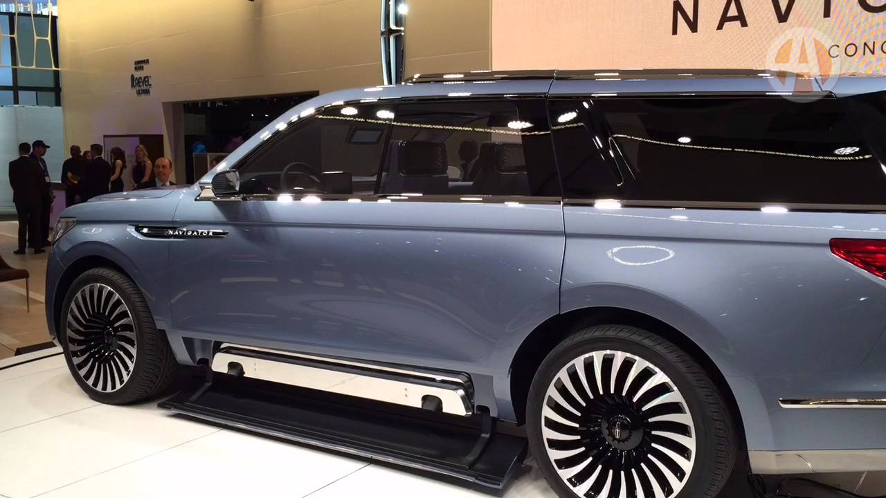 lincoln navigator concept new york auto show youtube. Black Bedroom Furniture Sets. Home Design Ideas