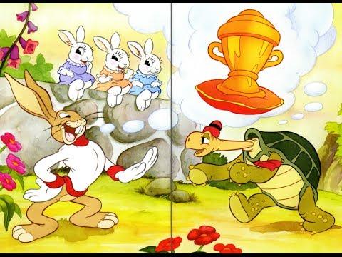 Заяц и черепаха сказка - YouTube