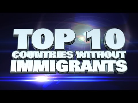 10 countries with no immigrants 2014
