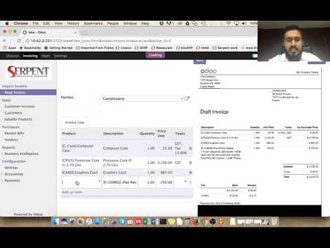 Free Online Invoice Program Excel Odoo Ocr Invoice Reader  Youtube Billing Invoicing with Receipt For Buying A Car Odoo Ocr Invoice Reader Readsoft Invoices Word