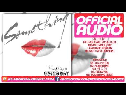 [MP3/DL]01. Girl's Day(걸스데이) - G.D.P (Intro) [3rd Mini Album Every Day 3]
