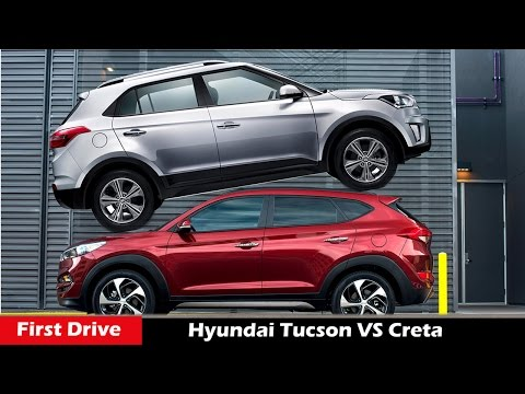 Hyundai Creta Vs Tucson 2016 ,Compare Review First Drive
