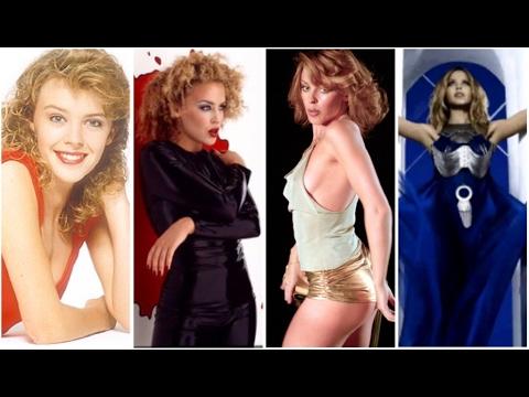 Evolution of Kylie Minogue (1987 - 2017)