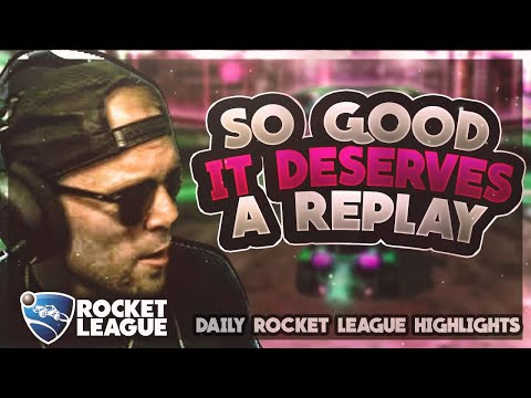 Sick Rocket League Highlights: This awesome pass by deevo thumbnail