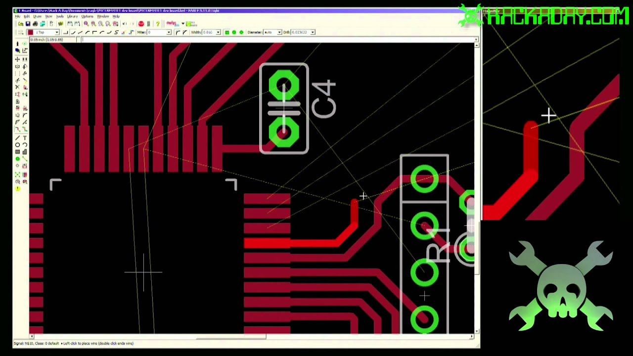 Eagle CAD - Layout - YouTube