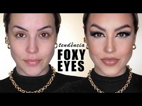 FOXY EYES | COMO FAZER A MAKE DO MOMENTO!