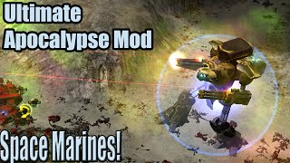 Dawn Of War Ultimate Apocalypse Mod 6 Player FFA Skirmish Battles - Space Marines