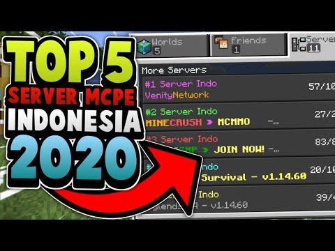 TOP 5 SERVER MCPE/MCBE BUATAN INDONESIA DI 2020 !!!