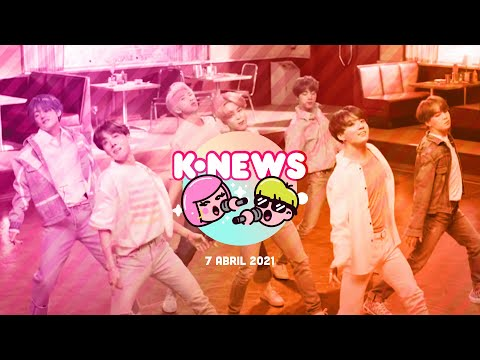 Wheein de MAMAMOO, HYBE, BTS, Baekhyun y más en las KNews  | 7 de abril