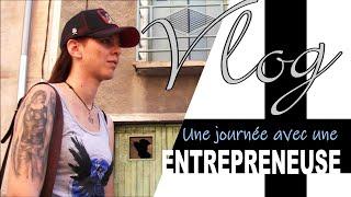 #1 VLOG - Une journée avec une entrepreneuse [Lisa Pradeilhe]