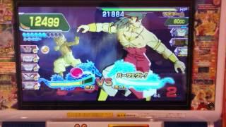 ドラゴンボールヒーローズ第7弾 超ボスブロリーを1ラウンドKO