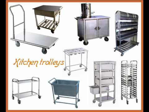 KITCHEN EQUIPMENT - YouTube