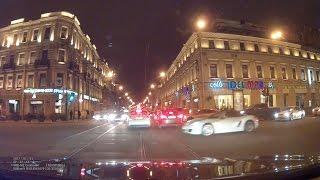 Девушка разбила Porsche на Невском! / Porsche Boxster vs Hyundai Solaris CRASH