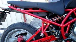 Sachs X-Road - Exhaust Sound