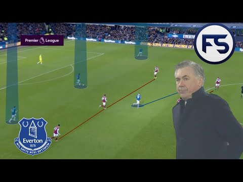 Ancelotti's First Game In Charge Of Everton: (4-4-2 V 4-4-2) A Tactical Analysis.