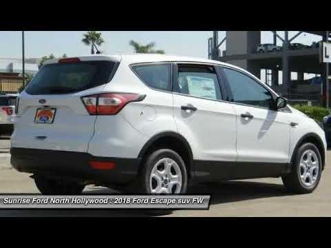 2018 Ford Escape North Hollywood,Los Angeles,San Fernando Valley,Glendale,Burbank M80089