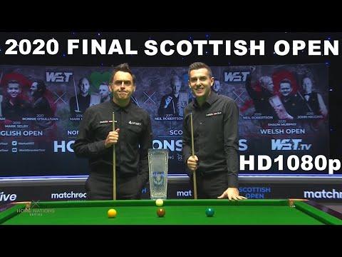 O\'Sullivan v Selby FINAL 2020 Scottish Open Snooker