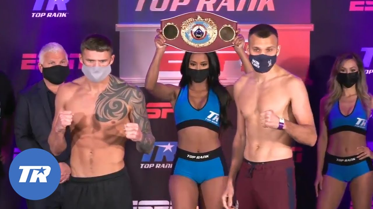 Smith and Vlasov Make Weight, World Championship Fight Official for Tomorrow  on ESPN and ESPN+