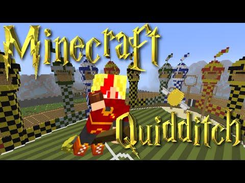 Minecraft Minigame Map Harry Potter Quidditch Seeker Voidy