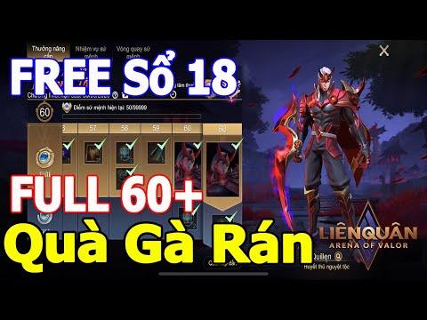 Liên quân mobile Sổ mùa 18 SIÊU LỜI Quà 1-6 [Đập hộp] Cặp đôi nguyệt tộc Yena và Quillen TNG