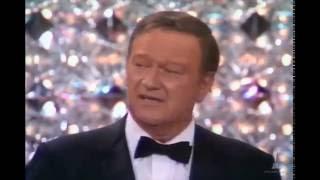 72nd Academy Awards (1970) - John Wayne Wins the Oscar for Best Actor