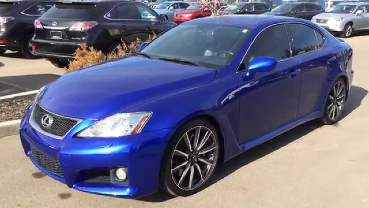Pre Owned Ultrasonic Blue 2008 Lexus Is F Series 1 Walk
